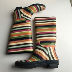 Coach rain boots Size 9b. Some wear as pictured. Box not included Coach Shoes Winter & Rain Boots