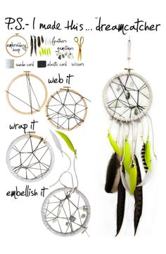 Create the ultimate dreamcatcher via @P.S.- I made this...