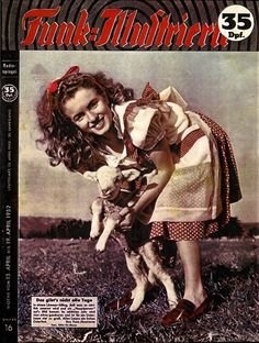 Funk Illustrierte - April 13th 1952, magazine from Germany. Front cover of Marilyn Monroe/Norma Jeane by Andre de Dienes, 1945.  ~ Pinned by Nathalie Gobbe, during the period of 1949 to 1952.