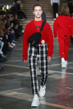 MSGM Fall 2018 Menswear Fashion Show Collection