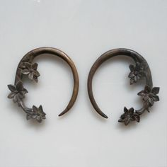 6 Gauge 4 mm Earrings  Sono Wood Natural Organic Hand by Bumade, $12.50