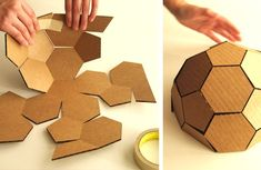 DIY: How to Make An Awesome Gingerbread Geodesic Dome House!