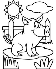 Images Pig Coloring Pages