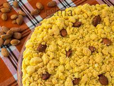 FREGOLOTTA O SBRISOLONA SALATA IN MICROONDE E NON #fregolotta #sbrisolona #sbriciolotta #salata #antipasto #aperitivo #buffet #festa #mandorle #mais