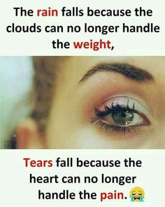 Tears are the words. Crazy Girl Quotes, Real Life Quotes, Hurt Quotes, Bff Quotes, Reality Quotes, Mood Quotes, Positive Quotes, Qoutes, Friendship Quotes