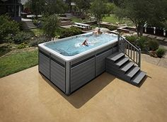15' Endless Pools Fitness System, Swim Spa
