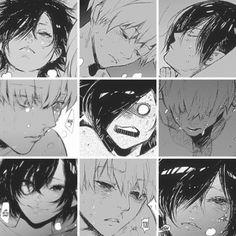 Kaneki Y Touka, Juuzou Suzuya, Ken Tokyo Ghoul, Tokyo Ghoul Manga, Tokyo Ghoul Pictures, Mega Pokemon, Anime Family, Japanese Graphic Design, Manga Love