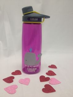 Help your sweetie stay hydrated in style. Make a reusable valentine with the CamelBak Chute and some creativity!
