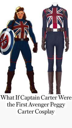 Superhero Cosplay, Superhero Movies, Superhero Party, Cosplay Makeup, Cosplay Costumes, Marvel Art, Marvel Comics, Captain Marvel, Captain America