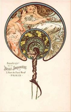 Mucha 1901  La Belle Jardiniere, by mpt.1607, via Flickr