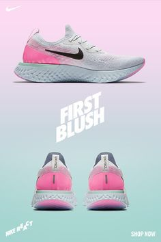9359fb2cc2f Go with the glow in the all-new Nike Epic React First Blush.