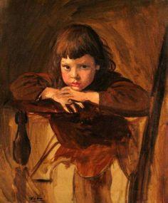 Augustus Edwin John - A Boy In Brown