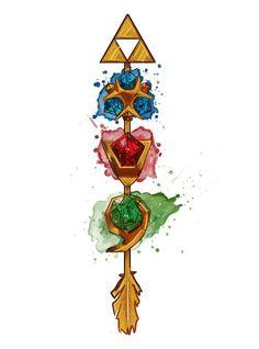 Legend of Zelda and loz image More #beautytatoos
