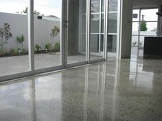 Polished Concrete Floors in Sophisticated Look - http://www.jeffliao.com/polished-concrete-floors-in-sophisticated-look/ : #FlooringIdeas Current design brought to polished concrete floors. Initially, this resource was employed by their strength, in instances of great everyday traffic such as airports or bus stations, government offices, educational facilities, among others. Currently, polished concrete floors, provides a...