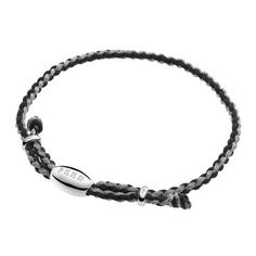 FEED Black & Metallic Pewter Cord Bracelet. Proceeds go to provide meals for in need school children.