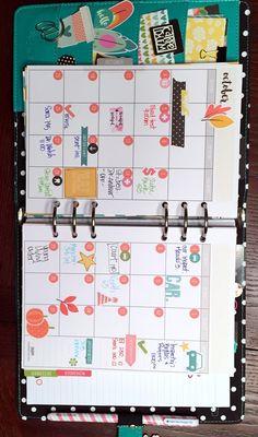 October Monthly - Simple Stories Carpe Diem Planner - Scrapbook.com