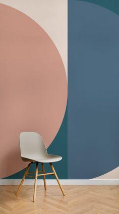 STIJLIDEE STYLINGTIP: Haal de Scandinavische Design Stijl in huis met Retro Jacobsen Behang | STIJLIDEE Interieuradvies en Styling via www.stijlidee.nl