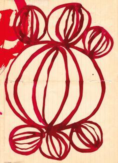 geometric love no.1 art print. $24.00, via Etsy. by lovelysweetwilliam