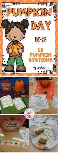 Pumpkin Day Activities!!
