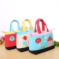 Cheap Handbag - Best Outdoor Handbag Cloth Cartoon Fashion Leisure Package Lunch Online with $8.05/Piece   DHgate