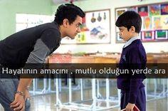 Her Çocuk Özeldir (Taare Zameen Par) Karma, Taare Zameen Par, Sanam Teri Kasam, 3 Idiots, Bollywood, Happiness Challenge, Aamir Khan, Good Sentences, My Philosophy