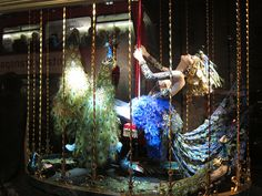 """FORTNUM & MASON,London, UK, """"Always Be Yourself...Unless you can be a peacock...Then always be a peackock"""", pinned by Ton van der Veer"""