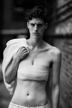 Genderqueer model Rain Dove doesn't care if you think she's a man or a woman