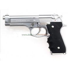 Tokyo Marui M92F Chrome Stainless GBB Pistol