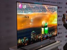 "The 55"" LG OLED TV"