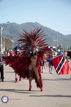 Trinidad and Tobago carnival Carnival Dancers, Carnival Girl, Brazil Carnival, Trinidad Carnival, Carnival Outfits, Carnival Makeup, Trinidad Food, Carnival 2015, School Carnival