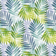 Made from easy to wipe clean PVC, this fabric is patterned with a bright leaf design in blues and greens. This product is sold by the metre. Green Leaves, Plant Leaves, Pvc Fabric, Leaf Design, Cleaning Wipes, Simple, Floral, Pattern, Plants