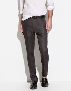 From Zara's Men Linen collection.