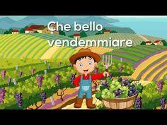 Che bello vendemmiare - Canzoni per bambini di Mela Music - YouTube Youtube Share, Digital Story, Canti, New Years Eve Party, Improve Yourself, Family Guy, Education, Children, School