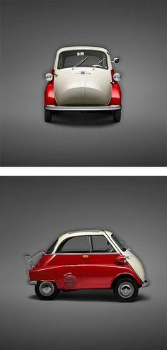 BMW Isetta, c1960 #car #design #vintage #style #oldtimer