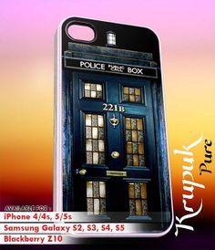 Tardis Sherlock holmes   iPhone 4/4s/5/5c/5s Case  by kyupuk, $14.50
