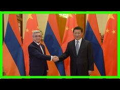 President sargsyan sends congratulatory message to chinese president xi jinping  President Sargsyan sends congratulatory message to Chinese President Xi Jinping 15:49 25 October 2017 YEREVAN OCTOBER 25 ARMENPRESS. President of Armenia and Chairman of the Republican Party of Ar...  ------------------------  Thanks For Whatching !  Don't forget like and Subcriber my channel  Subcriber: http://ift.tt/2hOWCXK sargsyan sends congratulatory message to chinese president xi jinping