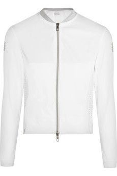 Monreal London Perforated stretch-jersey jacket  | THE OUTNET