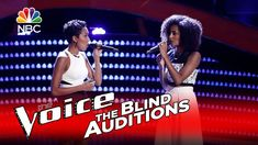 "The Voice 2016 Blind Audition - Whitney & Shannon: ""Landslide"" Such a beautiful cover of this song"