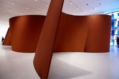 Richard Serra: he focuses on the magnitude of his structures in which makes one aware of themselves in proportion to his works. Truly amazing on a take of perception.