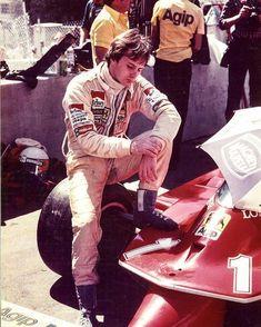 """frenchcurious: """"Gilles Villeneuve - Grand Prix des USA - Long Beach 1980 - source F1 History & Legends. """""""