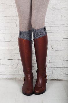Jambières chaussettes Boot tricoté Boot par FancyFeetsFamily