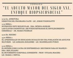 ARGENTINA:JORNADA GERONTOLÒGICA EL 3 DE OCTUBRE | Central Informativa del Adulto Mayor