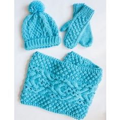 Mary Maxim - Free Chill Chaser Set Pattern