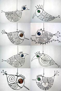 .wire birdies