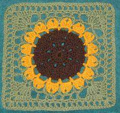YarnCrazy crochet world: Birthday Flower
