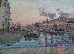 Paris, the Pont Marieby Armand Guillaumin