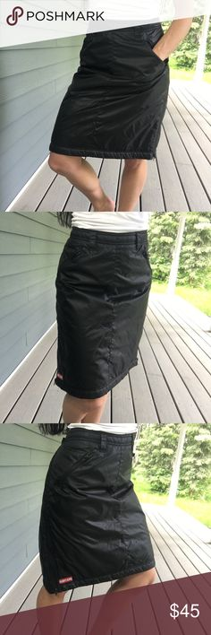 Ruby Jude black insulated snow skirt Ruby Jude black insulated snow skirt  Bottomsa7 ruby jupe Skirts