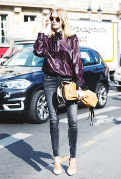 Hate Holiday Dresses? How to Dress Up Your Jeans for Party Season via @WhoWhatWear