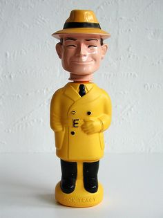 Colgate soaky toy: dick tracy