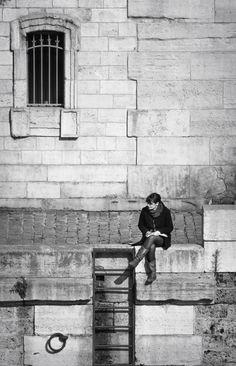 Looking for Inspiration,Paris Notre DamePhoto: Dieter Krehbiel
